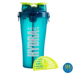 Blender bottle with 2 spouts for New York and New Jersey business marketers