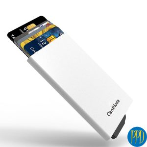 RDID blocking credit card holder for business to business marketing in New York and New Jersey.