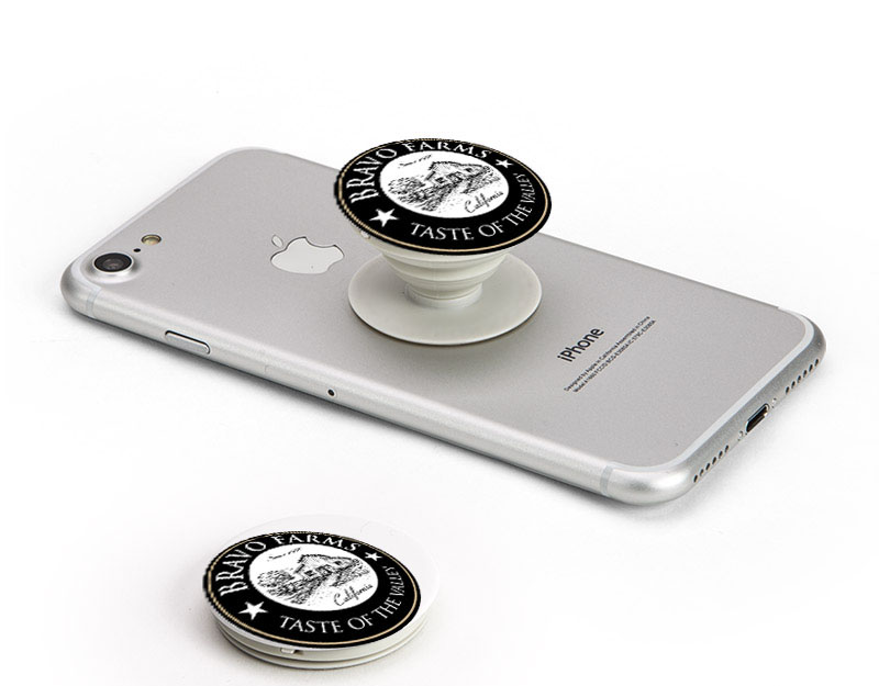 The Bay Area How to market your business with a Pop Phone Socket Stand.